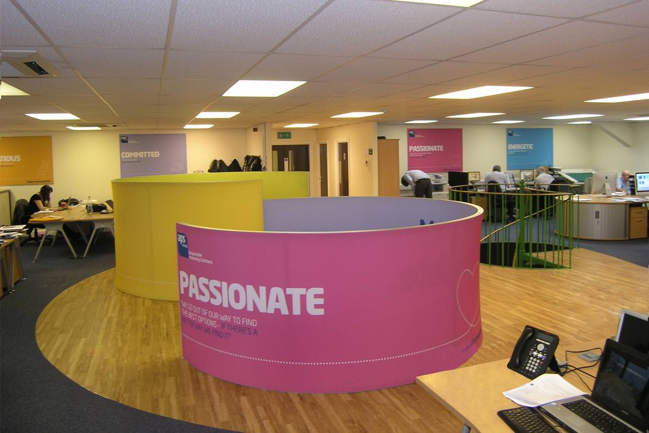 Office screens, Manchester,Cheshire