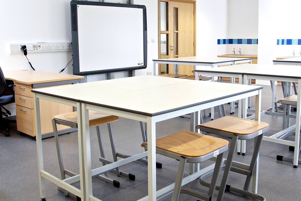 classroom space planning school furniture fitting