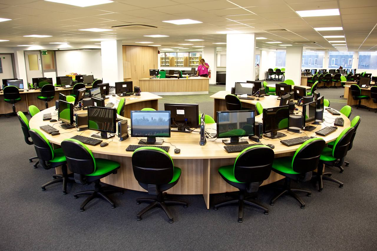 Computer room design bolton manchester cheshire Computer office interior design