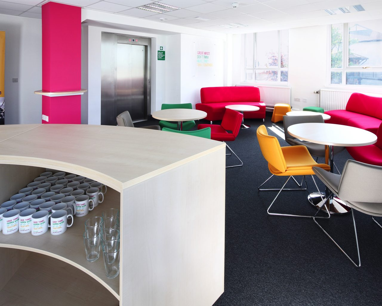 Office refurbishment designers, Office design, Manchester
