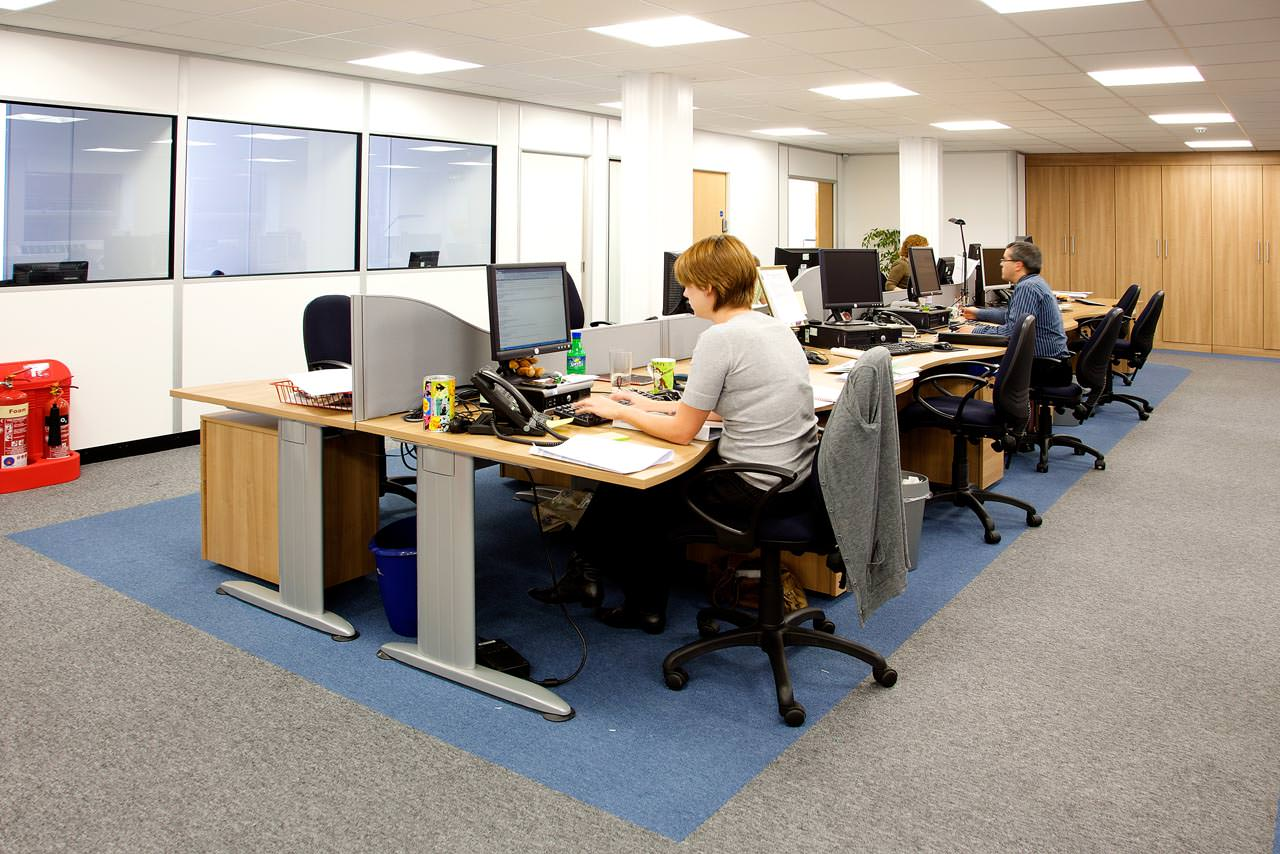 Office lighting, Bolton, Manchester, Cheshire, Lancashire, Liverpool, Leeds, UK