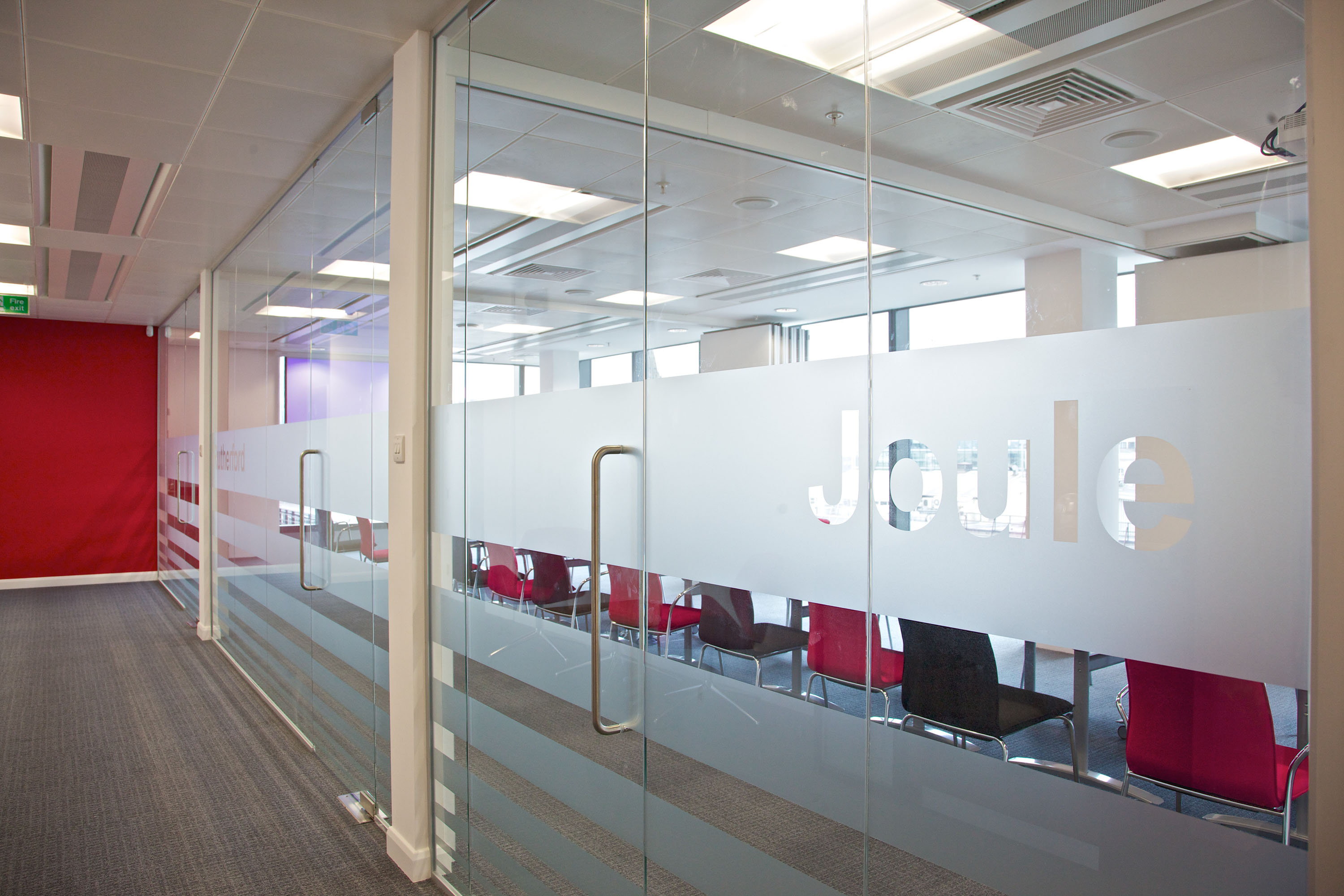 Office glass partitions bolton manchester cheshire Office partition walls with doors