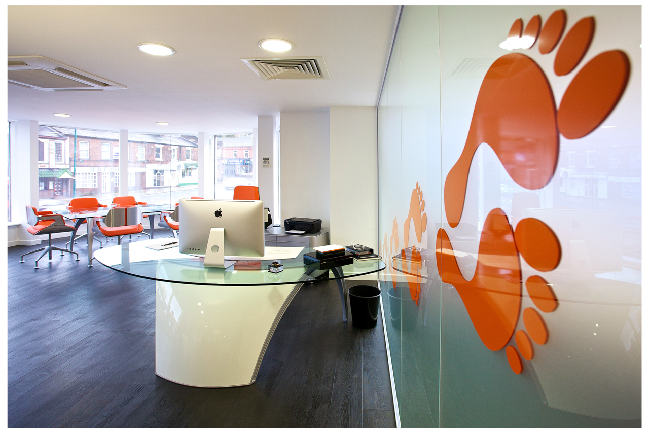 Inspiring office interior design whitespace consultants for Office interior design uk