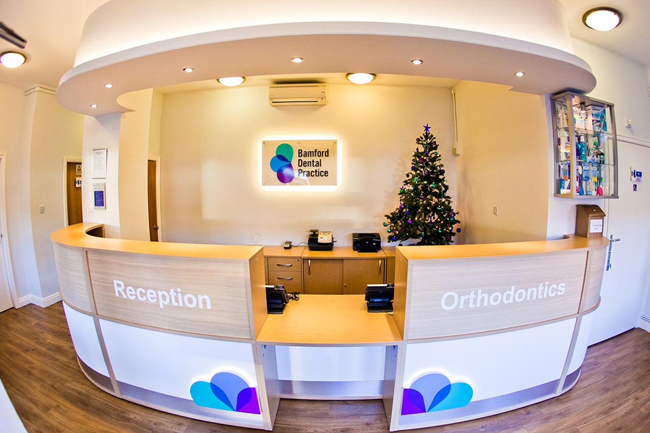 Office reception desk, Bolton, Manchester, Cheshire, Lancashire