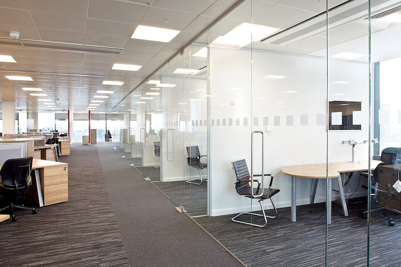 Glass manifestation bolton manchester cheshire for Office design guidelines uk
