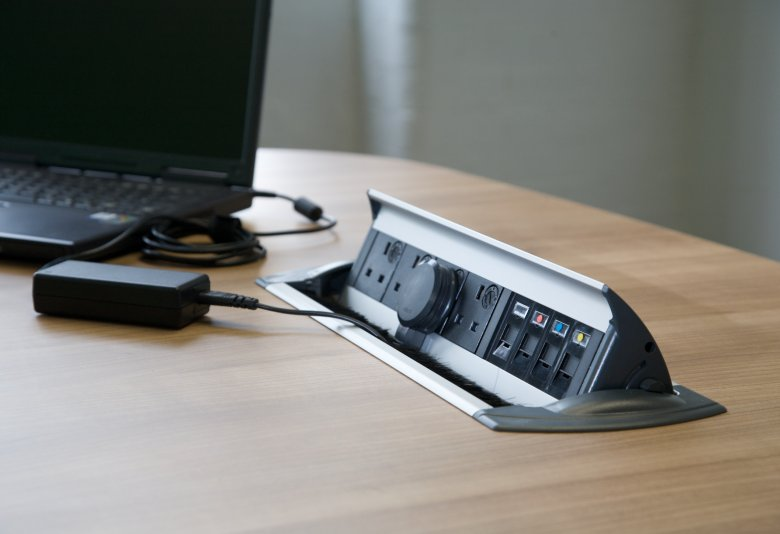 Desk cable management system, Bolton, Manchester, Lancashire, Cheshire, Liverpool, Birmingham, Leeds, UK