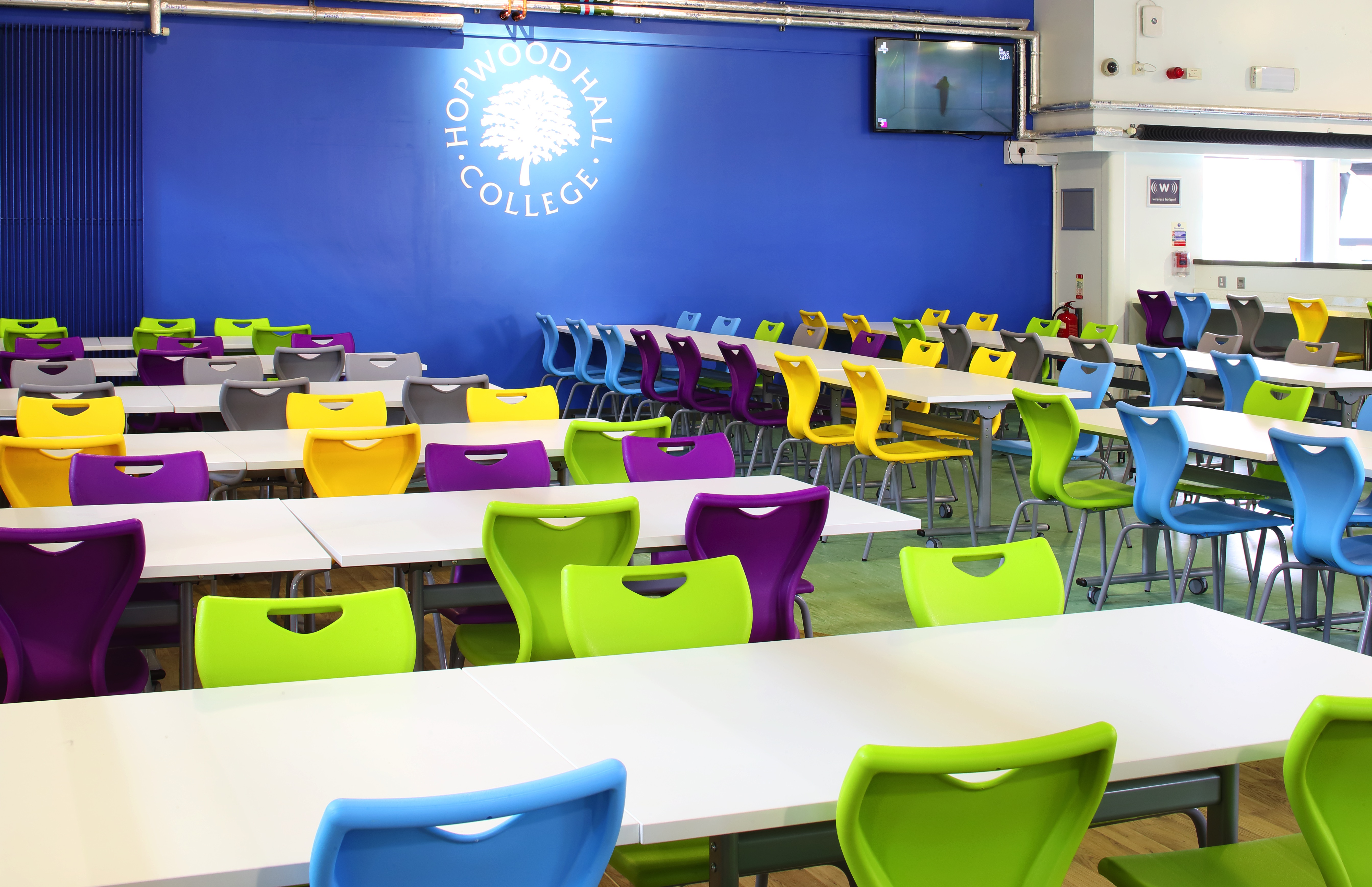 School Dining Areas Rooms Manchester Bolton