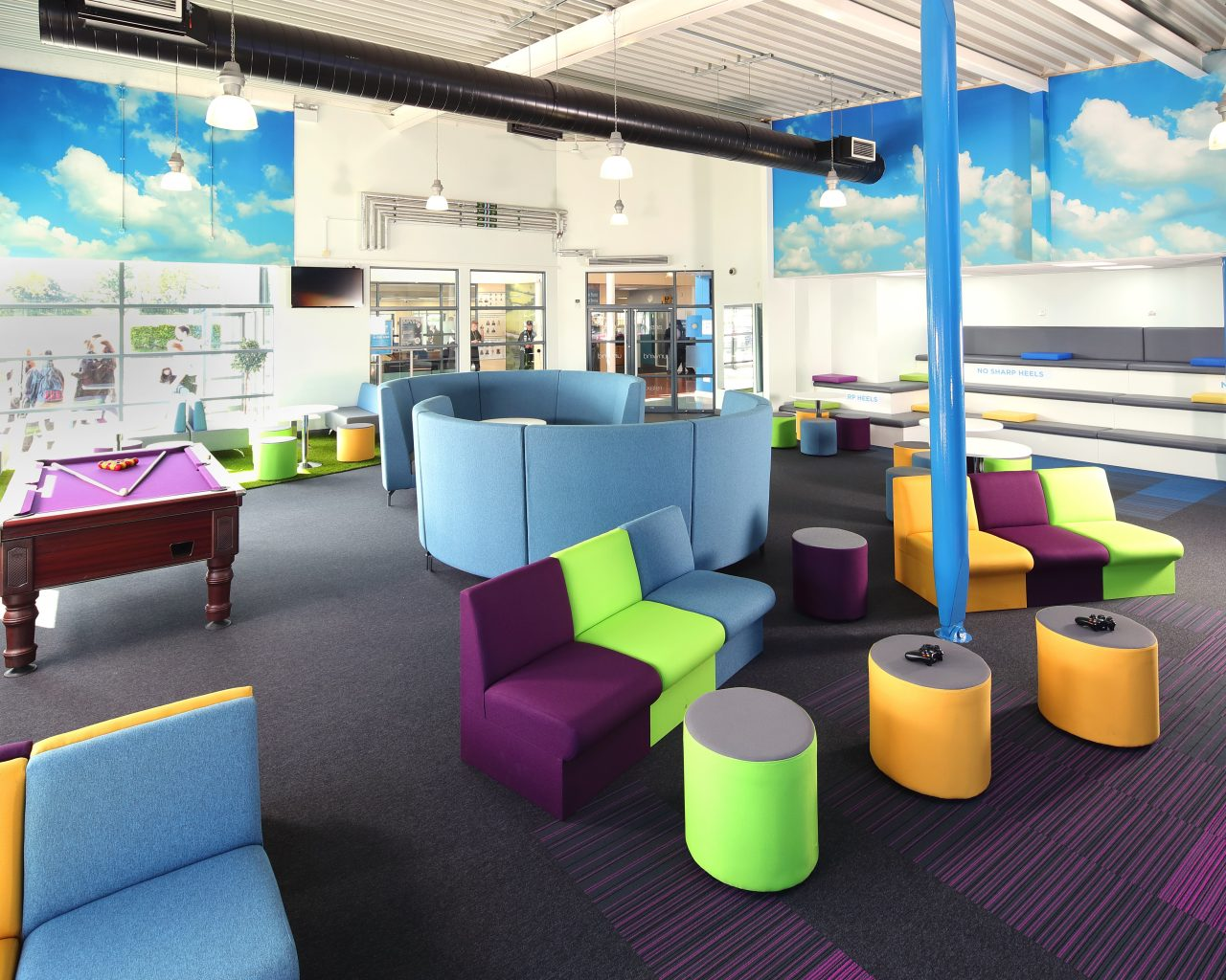 Social spaces in schools, Manchester