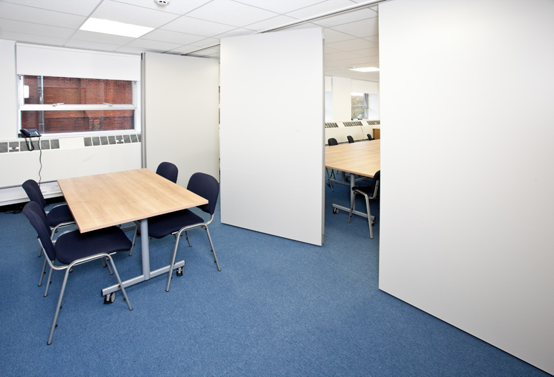 movable walls, office partitioning, Manchester, Preston