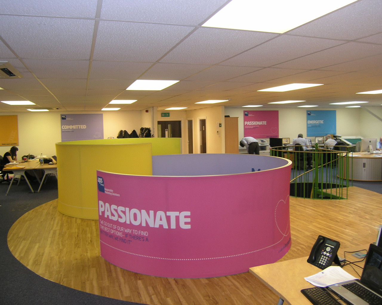 Office fit out North Wales, Queensferry, Colwyn, Wrexham, Flint.
