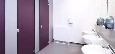 school washrooms