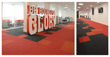 Carpet zoning in office design guest blog burmatex whitespace consultants - Virgin trains head office contact ...