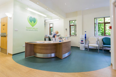 Reception desk, surgery manchester